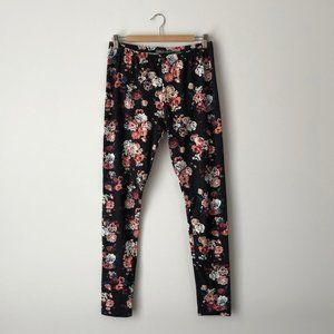 Suzy Shier Floral Leggings